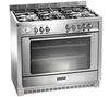 BAUMATIC BCD905SS Dual Fuel Range Cooker - Stainless Steel