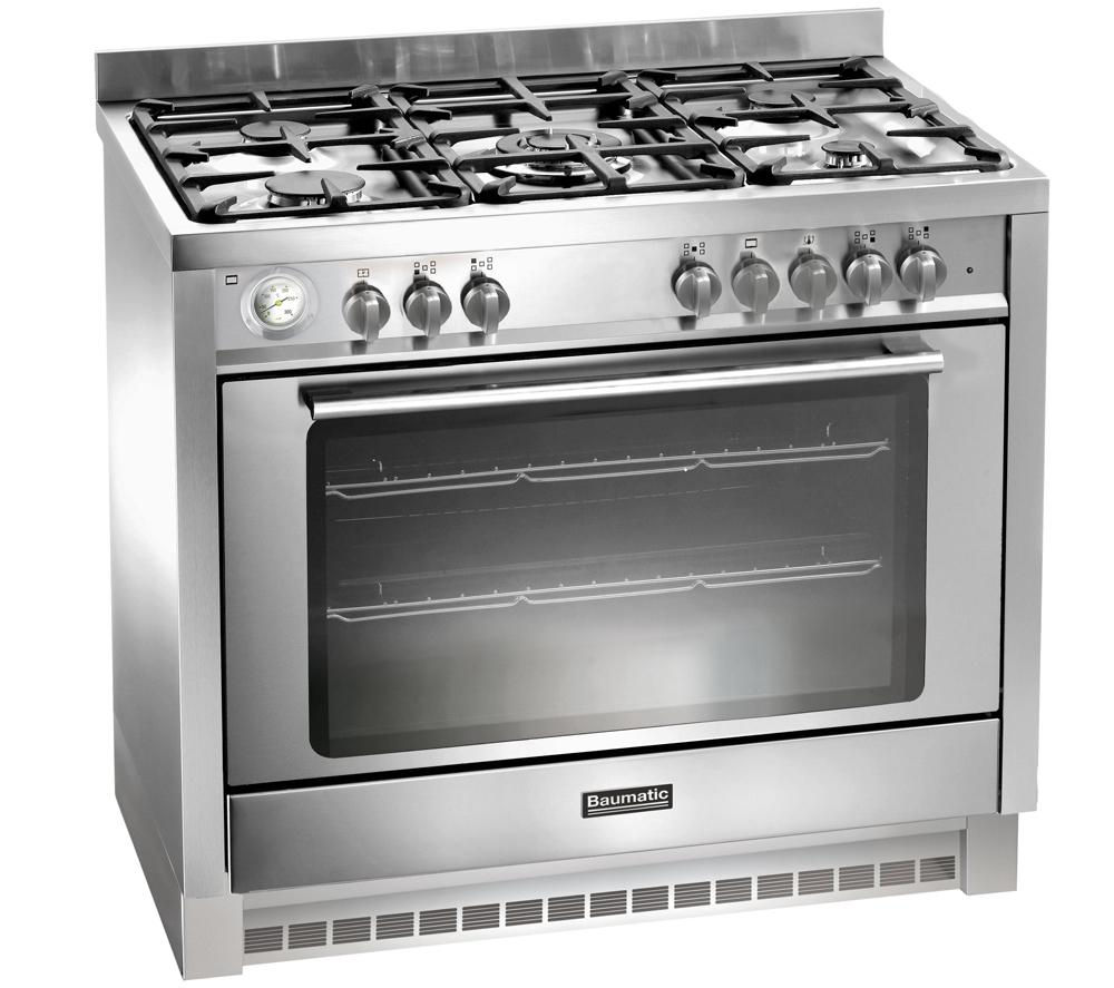 BAUMATIC  BCD905SS Dual Fuel Range Cooker  Stainless Steel Stainless Steel