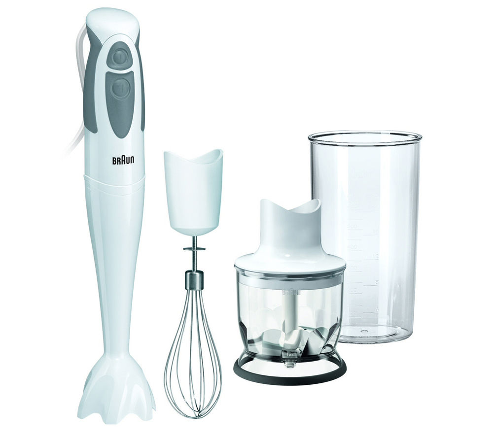buy braun mq325 multiquick 3 hand blender white free delivery currys. Black Bedroom Furniture Sets. Home Design Ideas