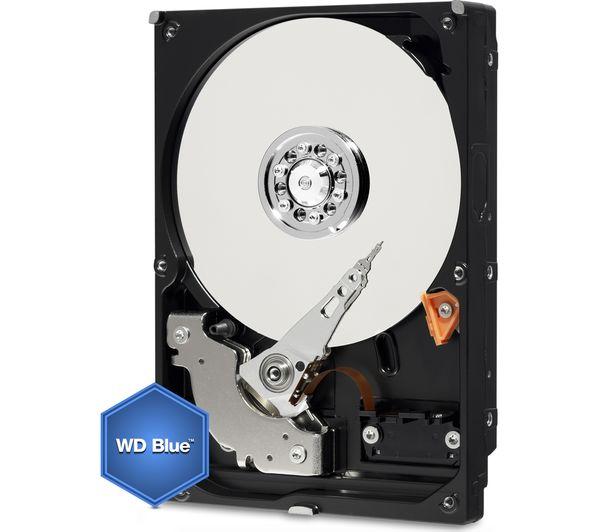 WD  Desktop Everyday 3.5 Internal Hard Drive  4 TB Blue