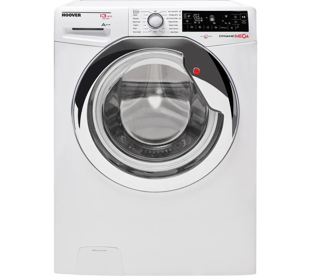 HOOVER DMP413AIW3 Washing Machine - White