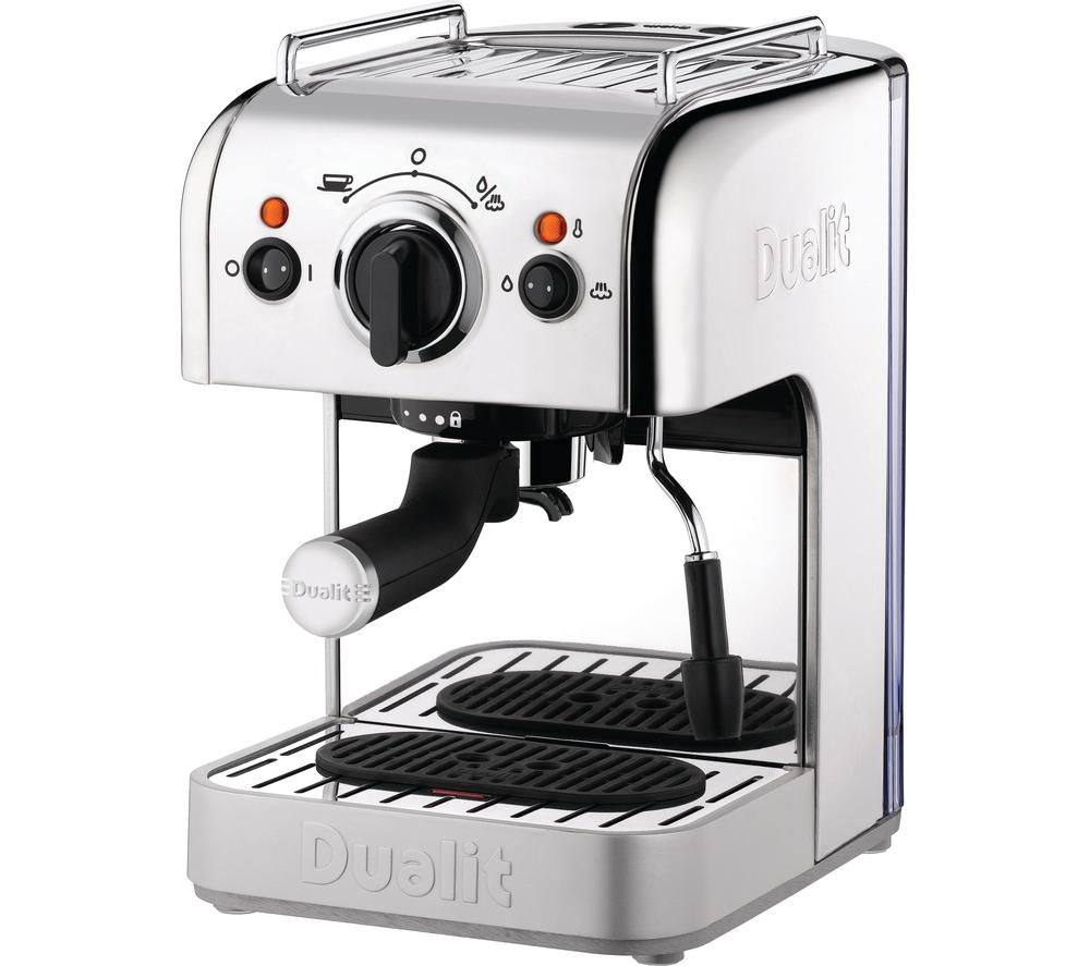 buy dualit d3in1ss 3 in 1 coffee machine stainless steel free delivery currys. Black Bedroom Furniture Sets. Home Design Ideas