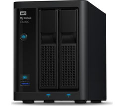 WD My Cloud EX2100 NAS Drive - 4 TB, Black