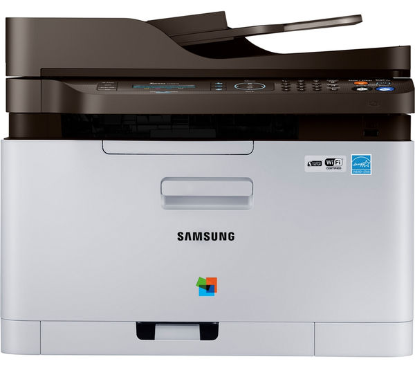 Image of SAMSUNG Xpress C480FW All-in-One Wireless Laser Printer with Fax