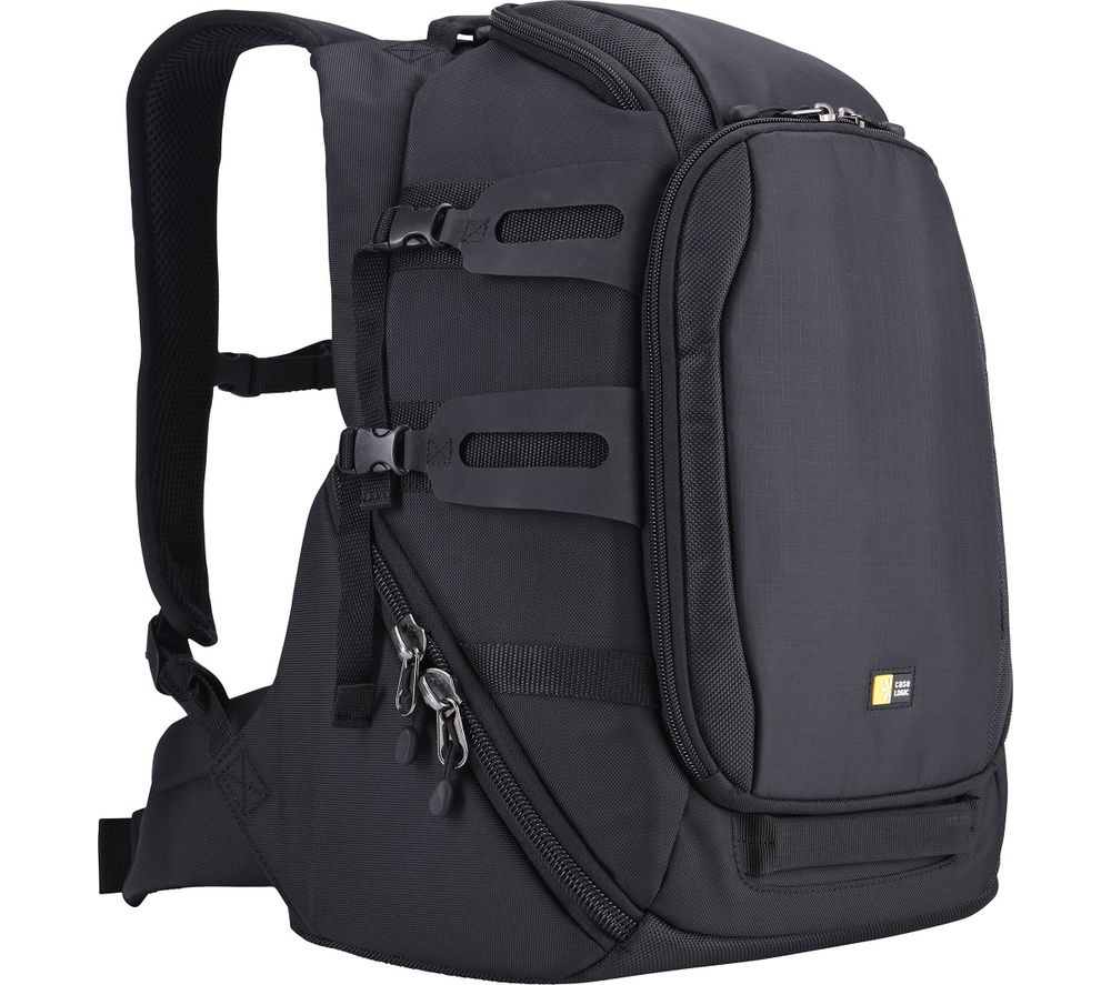 CASE LOGIC Luminosity Split DSLR Backpack - Black