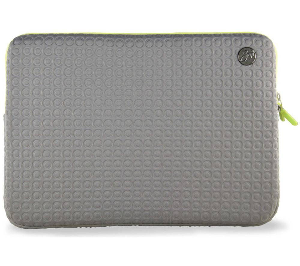 "Goji GSMGY1316 13"" MacBook Pro Sleeve - Grey & Green, Grey"