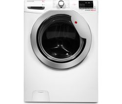 HOOVER DXOC49C3 Washing Machine - White
