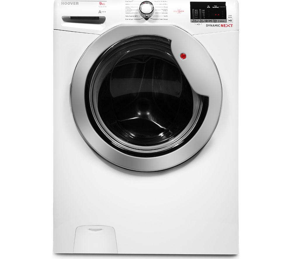 HOOVER  DXOC49C3 Washing Machine  White White