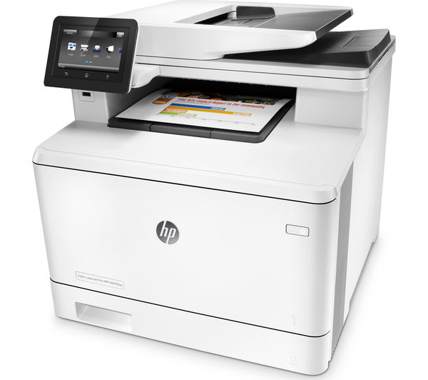 Image of HP M477nw All-in-One Wireless Laser Printer with Fax