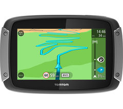 "TOMTOM Rider 400 EU Motorcycle 4.3"" Sat Nav - UK, ROI & Full Europe Maps"