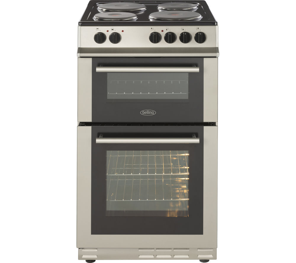 BELLING FS50EFDO Electric Solid Plate Cooker - Silver