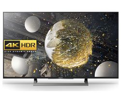 "SONY KD49XD8088BU Smart 4K Ultra HD HDR 49"" LED TV"