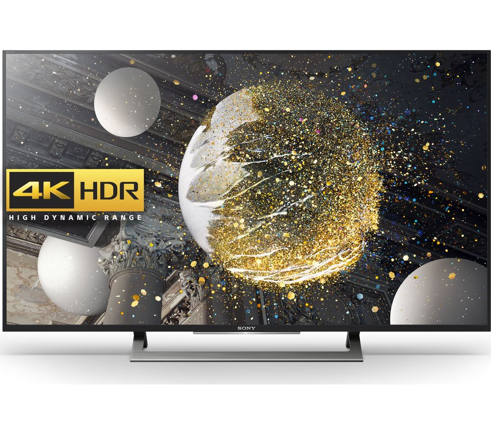 buy sony kd49xd8088bu smart 4k ultra hd hdr 49 led tv free delivery currys. Black Bedroom Furniture Sets. Home Design Ideas