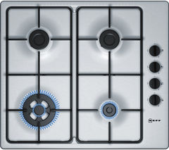 NEFF T26BR58N0 Gas Hob - Stainless Steel