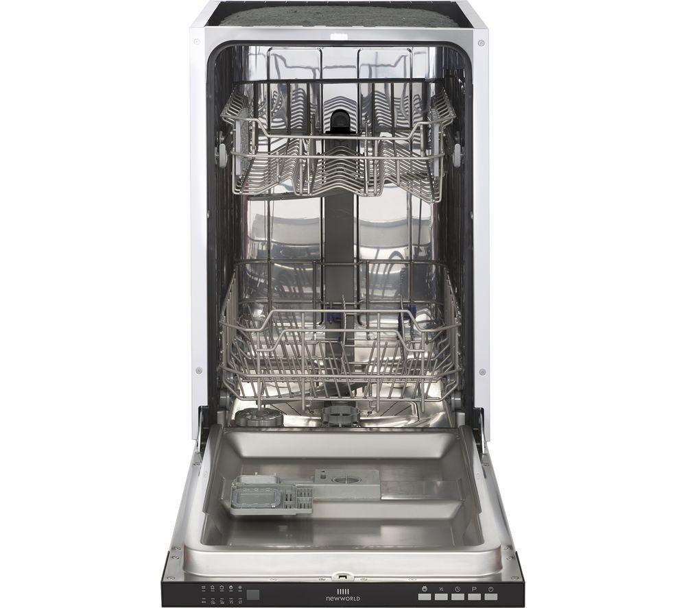NEW WORLD NW INDW45 Slimline Integrated Dishwasher