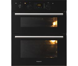 HOTPOINT Class 2 DU2 540 BL Electric Built-under Double Oven - Black