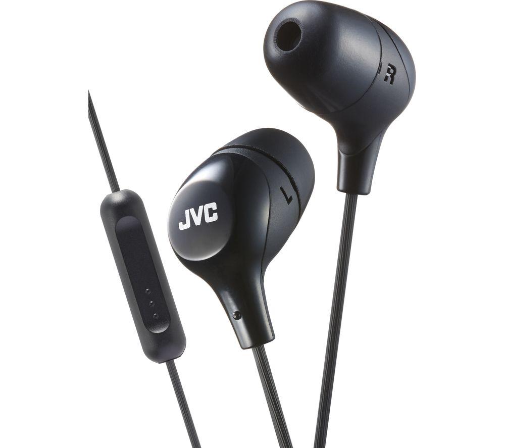 JVC HAFX38MBE Headphones  Black Black