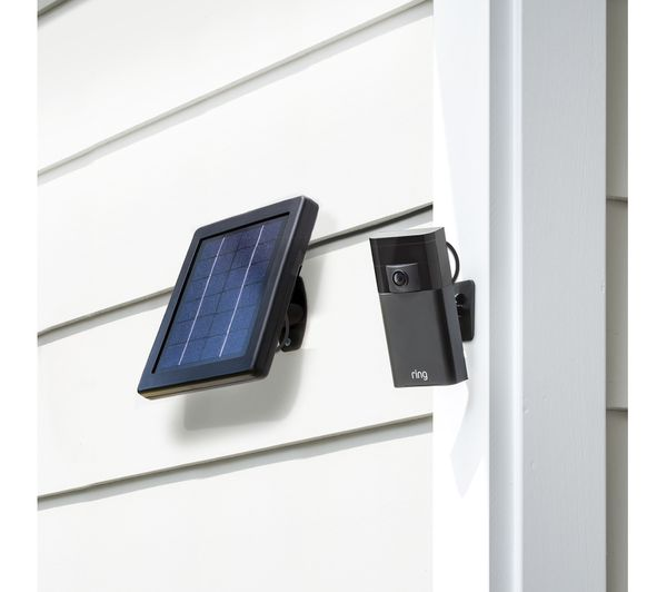 Ring Stick Up Cam Solar Power Bundle