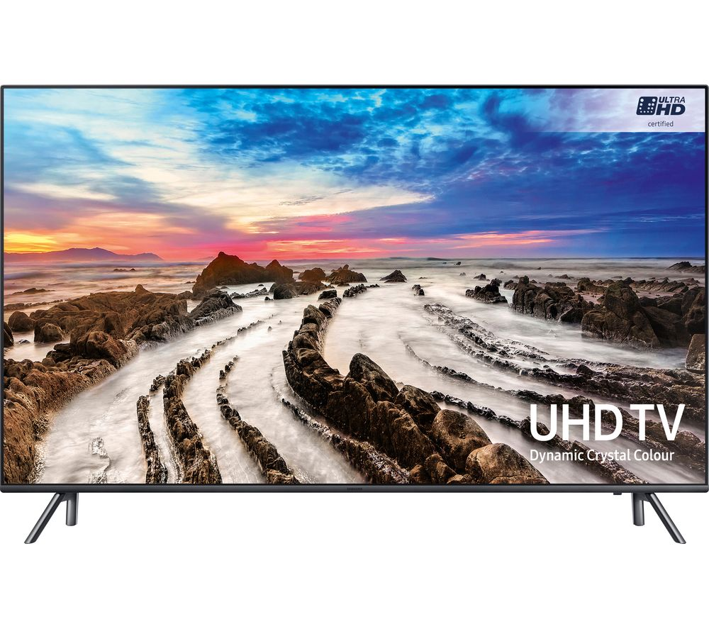"SAMSUNG UE65MU7070 65"" Smart 4K Ultra HD HDR LED TV + SFLEZ14 Medium to Large Fixed TV Bracket"