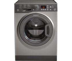 HOTPOINT Aquarius FDF 9640 G 9 kg Washer Dryer - Graphite