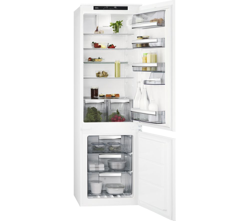 Aeg Sce81816ts Integrated 70/30 Fridge Freezer.