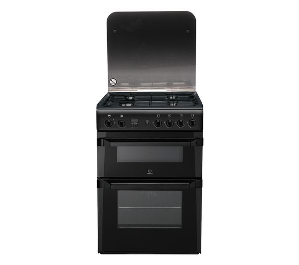 INDESIT ID60G2A Gas Cooker - Anthracite