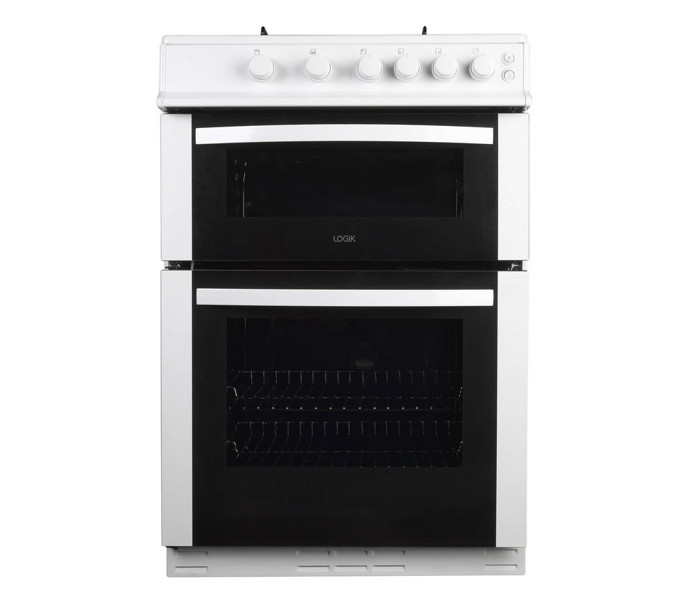 LOGIK LFTG60W12 Gas Cooker - White