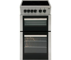 BEKO BDC5422AS Electric Ceramic Cooker - Silver