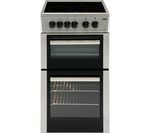 BEKO BDC5422AS Electric Ceramic Cooker - Silver