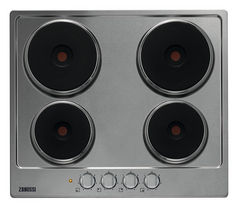 ZANUSSI ZEE6940FXA Electric Hob - Stainless Steel