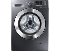 SAMSUNG ecobubble WF80F5E2W4X Washing Machine - Graphite