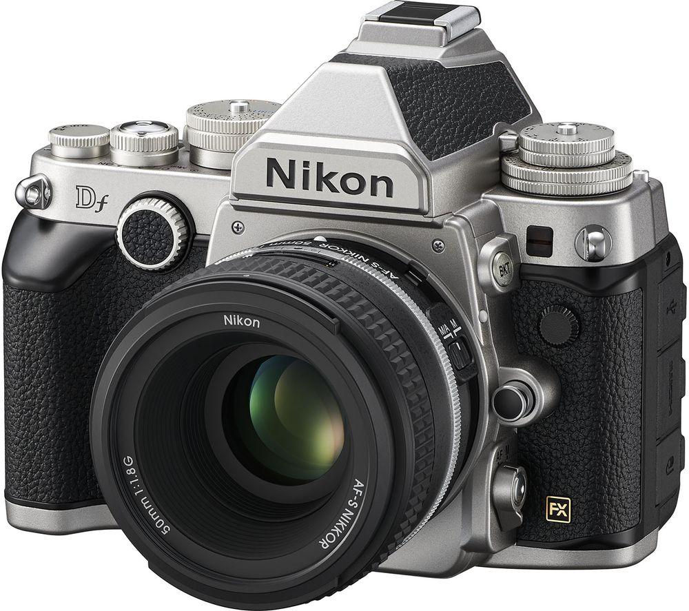NIKON Df DSLR Camera with 50 mm f/1.8 G Standard Lens