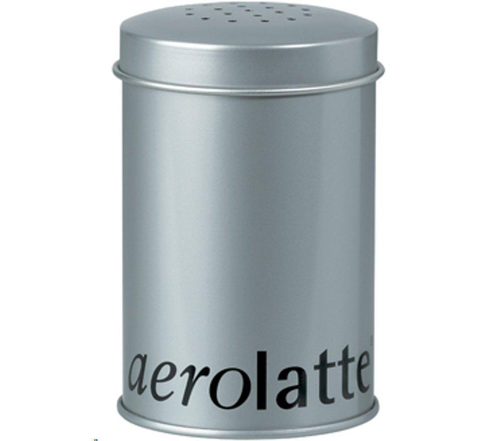 EDDINGTONS  56SH2TIN Aerolatte Chocolate Shaker  Silver Chocolate