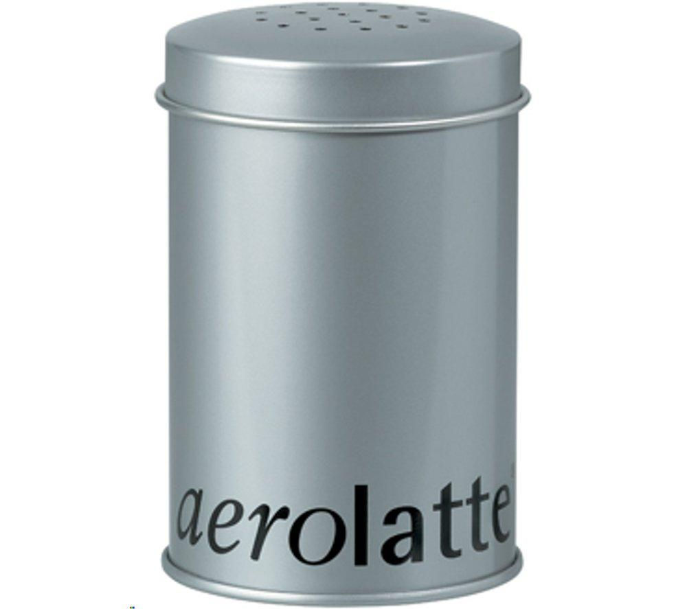 EDDINGTONS 56SH2TIN Aerolatte Chocolate Shaker - Silver