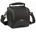 LOWEPRO  Apex 110 AW DSLR Camera Bag - Black & Grey, Black at PC World, UK