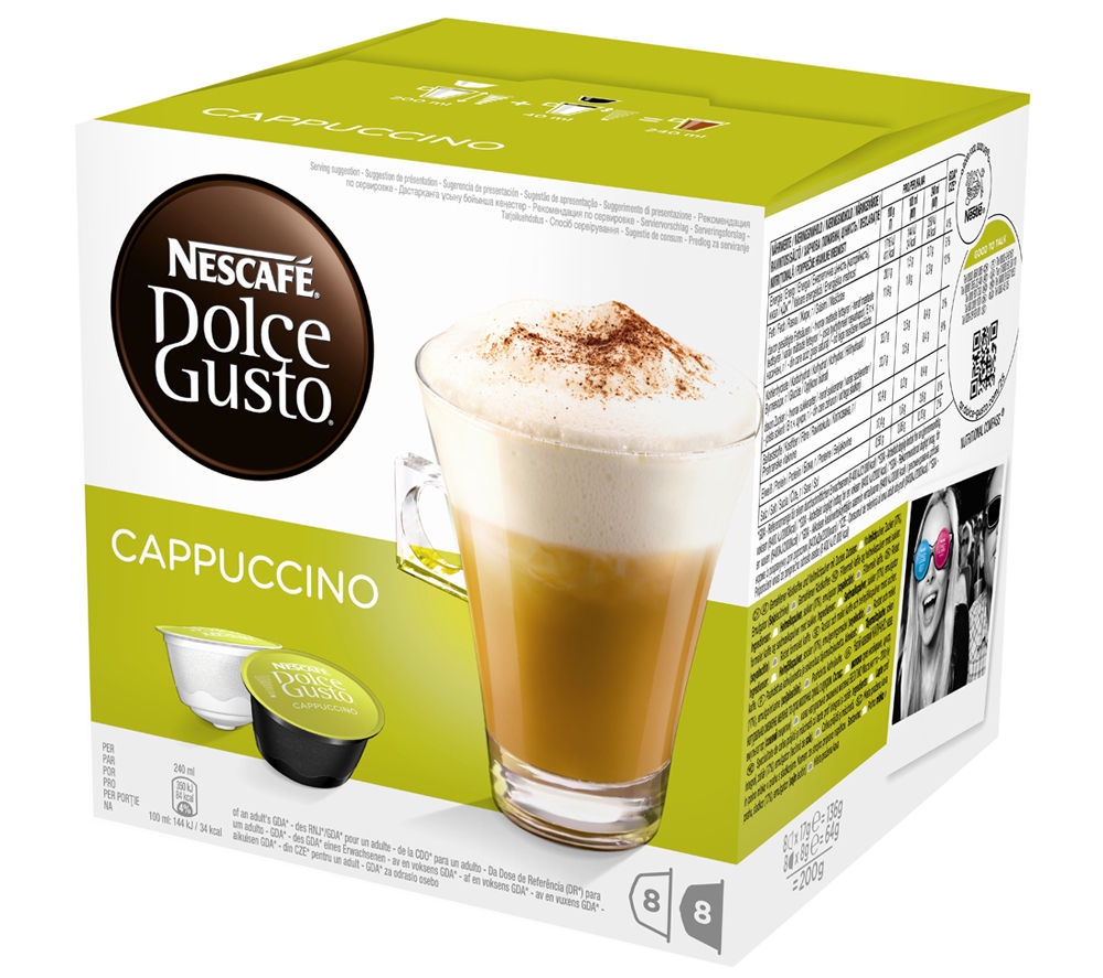 NESCAFE  Dolce Gusto Cappuccino  Pack of 8