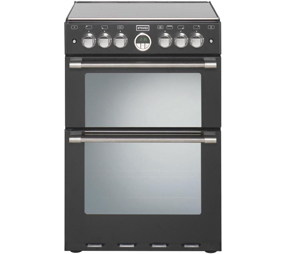 STOVES Sterling 600G Gas Cooker - Black