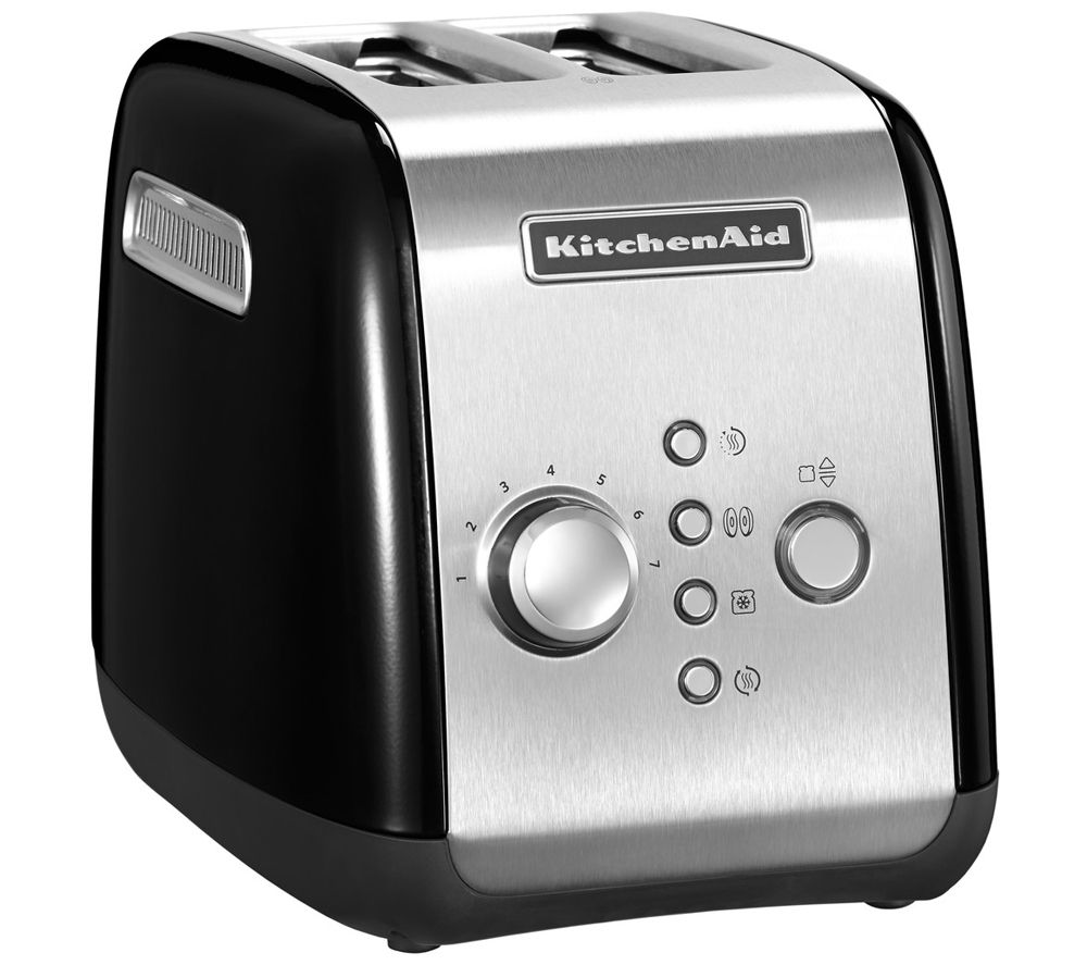 KITCHENAID  5KMT221BOB 2Slice Toaster  Black Black