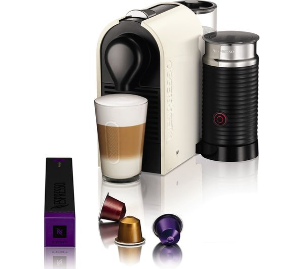 buy nespresso by krups u xn260140 coffee machine with. Black Bedroom Furniture Sets. Home Design Ideas