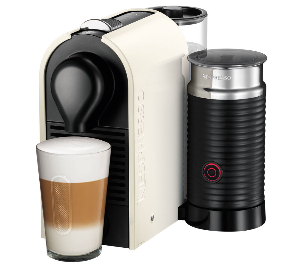 Buy nespresso by krups u xn260140 coffee machine with aeroccino pure cream free delivery - Machine a cafe krups nespresso ...