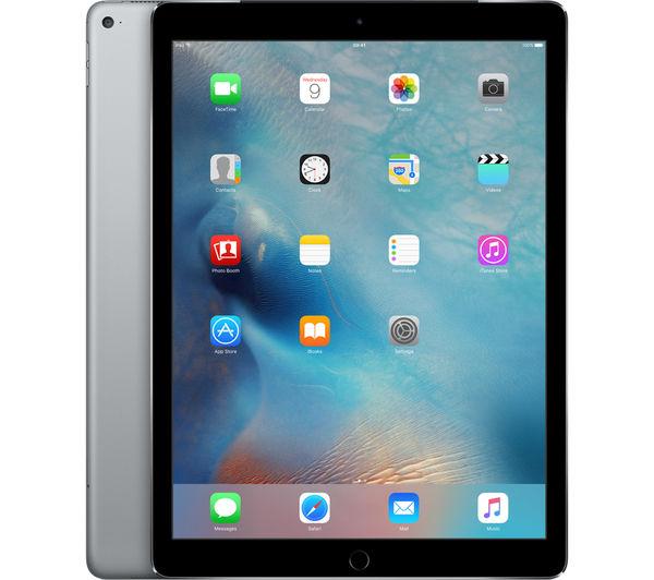 "An image of APPLE 12.9"" iPad Pro - 128 GB, Space Grey"
