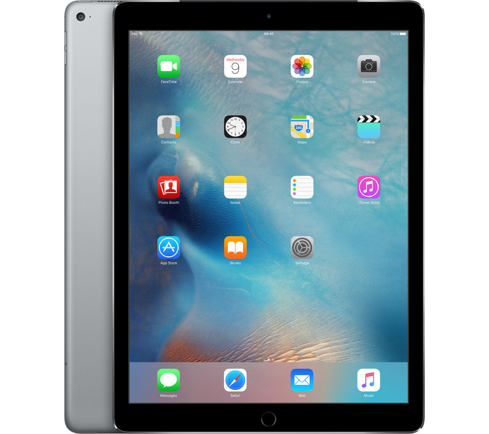 "APPLE  12.9"" iPad Pro - 128 GB, Space Grey +  Pencil - White"
