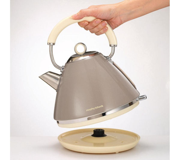 Morphy Richards Kettle: Buy MORPHY RICHARDS Accents 102012 Traditional Kettle - Barley