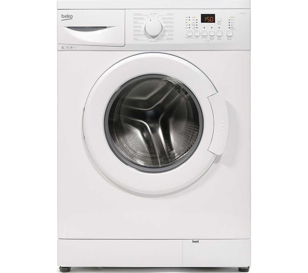 BEKO  WM84125W Washing Machine  White White