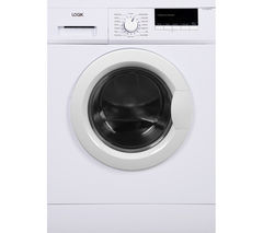 LOGIK L612WM16 Washing Machine - White