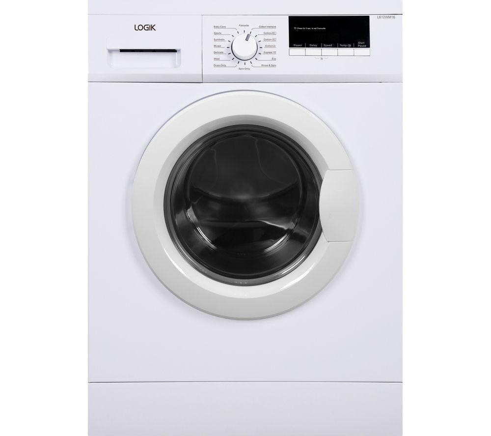 Buy Logik L612wm16 Washing Machine White Free Delivery