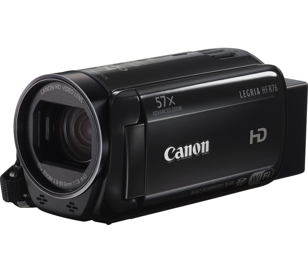 Image of Canon LEGRIA HF R76 Full HD Traditional Camcorder - Black, Black