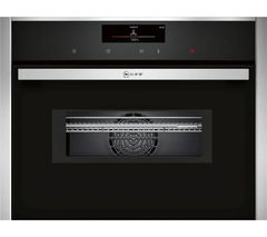 NEFF C28MT27N0B Built-in Combination Microwave - Stainless Steel