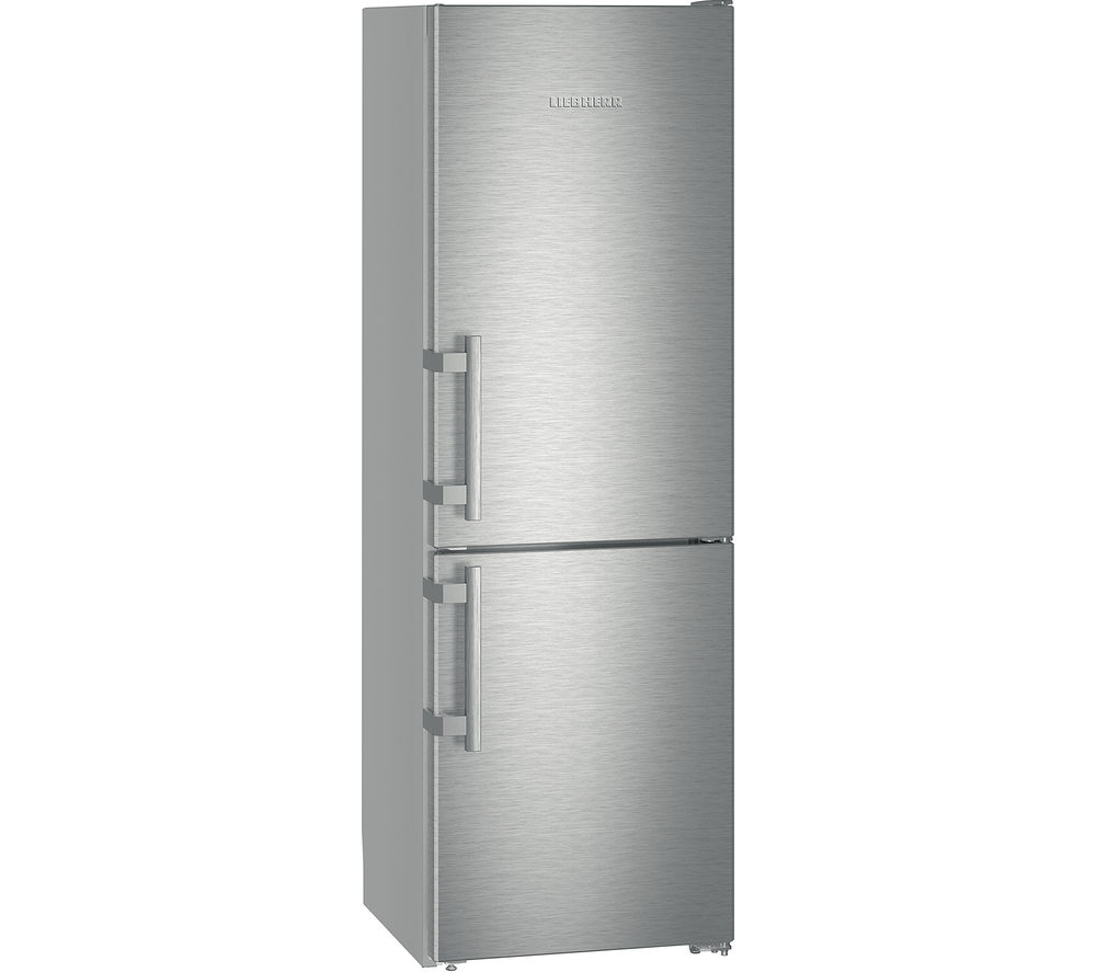 Image of LIEBHERR Cef 3525 Fridge Freezer - Silver, Stainless Steel