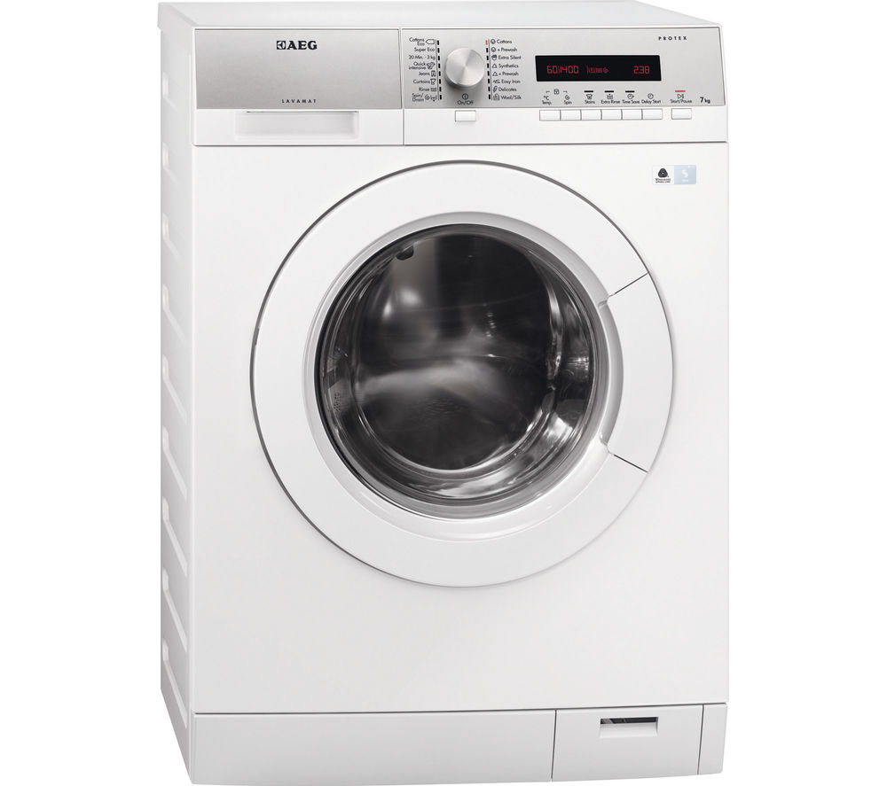 AEG  L76475FL Washing Machine  White White